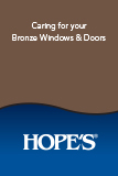 Caring for your Bronze Windows and Doors